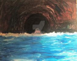 Into the cave by ClareAmyJoyHurley