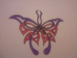 tribal butterfly by emmawhit