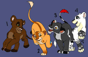 Lion Point Adoptables :CLOSED: by ArrowRules