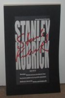 Stanley Kubrick Poster by estranged-illusions