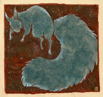 black squirrel by luve
