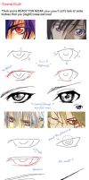 Bishie eye tutorial+ by Looneh