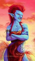 Female Troll by LiberLibelula