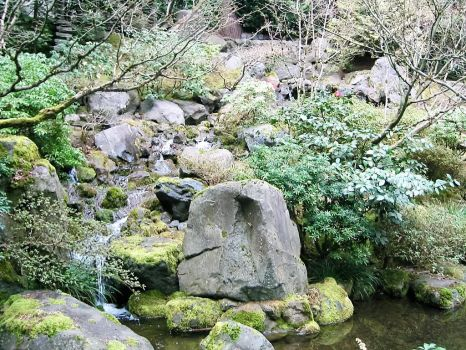 Japanese Garden by Kanabo