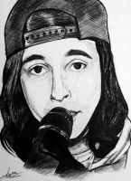 Vic Fuentes - Microphone by I-Draw-Bands