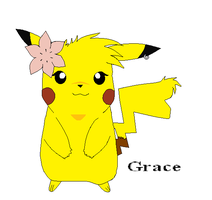 Grace The Pikachu by Claire-Cooper