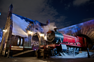 Hogsmeade Station by shiosVIP
