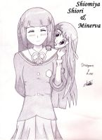 Minerva and Shiori 04 by DragoonLee