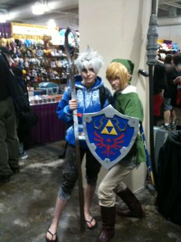 Jack Frost and Link by Midnights-Starlight
