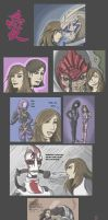 Mass Effect Family by LunaARTemis-S237