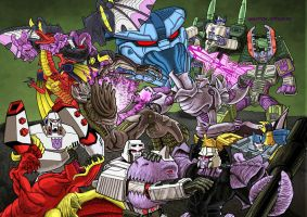 Megatronical War by MJBoyson