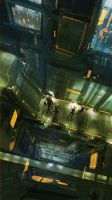 Project Lodus Underground City 1 by medders