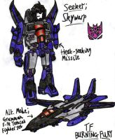 Transformers: Burning Fury - Skywarp by KrytenMarkGen-0