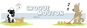 Croque Mouton by MacOneill