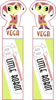 Bookmarks - MLaaLR - Vega by Hikoishi