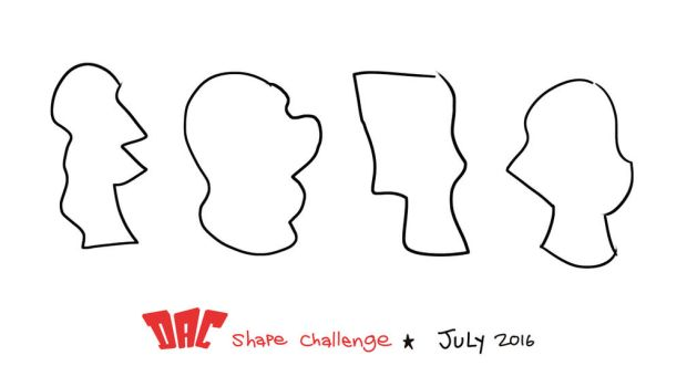 July 2016 Shapes by LuigiL