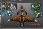 League of Legends Mod: Ahri Skin by KayFedewa