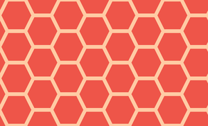 Honeycomb-251 (Guava Peach) by Trapped-Echoes