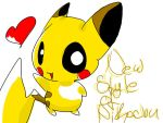 New Style of Drawing Pikachu by Chaomaster1