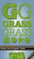 Grass Sod Illustrator Style by gruberdesigns