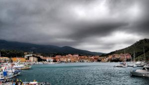 Stormy Harbour by VeryBadGirl
