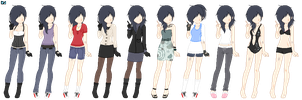 Outfits: Rowan Carter by UnderworldDJ