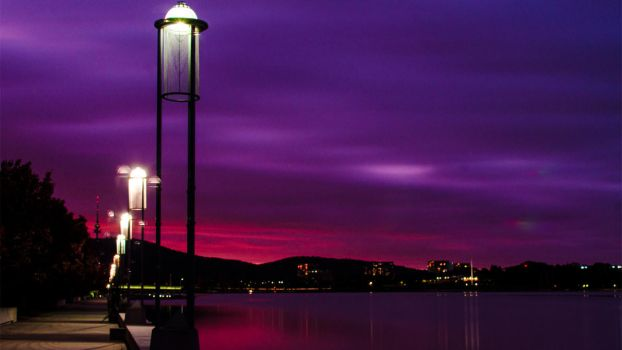 Lake Burley Griffin - Canberra, Australia by DOOMGUY1001