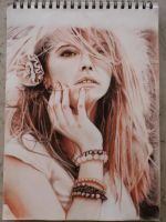 Sanguine, Sepia and Charcoal by marixiram