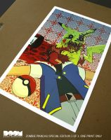 Zombie Pikachu Special Edition 1 of 1 by DoomCMYK