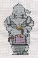 Alphonse Elric Cross Stitch by Muko-kun