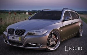 BMW Touring Black Edition by liquidsnake46