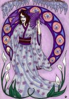 Fairy in purple bysombrefeline by Fantasy-Fellowship