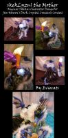 SkekLyzul the Mother Posable Art Doll by Eviecats