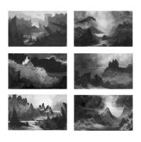 Quick Environment thumbnails by Lyno3ghe