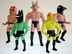 The New Wrestlers by Teagle
