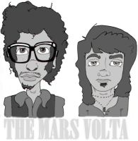 The Mars Volta by unfunnies