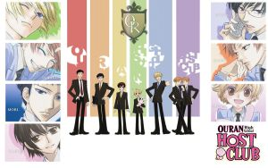 Ouran High School Host Club :D by xjesus-freakx