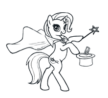 TGP Trixie Sketch by Choedan-Kal