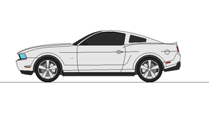 2012 Ford Mustang GT by airsoftfarmer