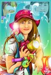 Christina Shinta Daro by allvinART