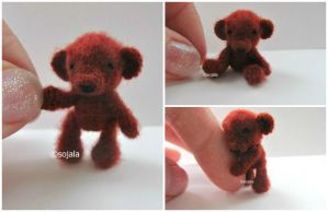 Tiny Thread Bear by sojala