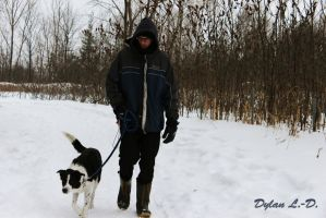 A walk in the snow by jedylan