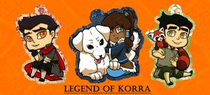 Keychains: Legend of Korra by VeloursRose