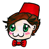Chibi 11th Doctor by Chrisily