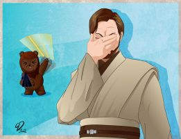 Obi-Wan Face Palm by YulayDevlet