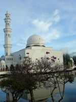 the Floating Mosque by nysh