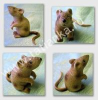 Mouse figurine_1 by tatianka-ru