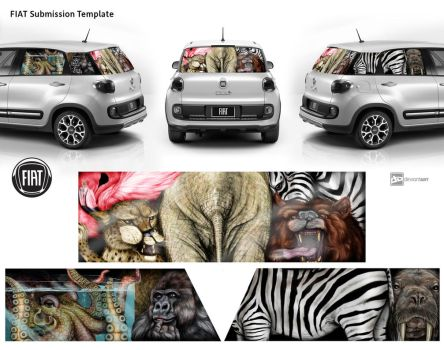 more FIAT... more space for a whole zoo! by firlefanzzz