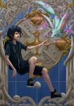 Final Fantasy XV fan art Noctis and Carbuncle by piter235