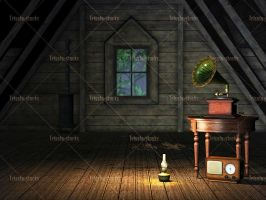 Old Attic 01 by Trisste-stocks